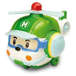 """Игрушка """"Металлический вертолет Хэли"""", 6 см, Робокар Поли"""