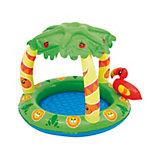 """Детский бассейн с надувным навесом от солнца """"Джунгли"""", Bestway"""