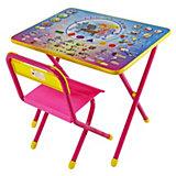 "Набор мебели ""Электроник"" (2-5 лет), Дэми, розовый"