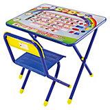 """Набор мебели """"Алфавит"""" (2-5 лет), Дэми, синий"""