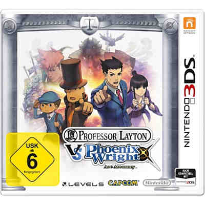 3DS Professor Layton vs. Phoenix Wright: Ace Attorney