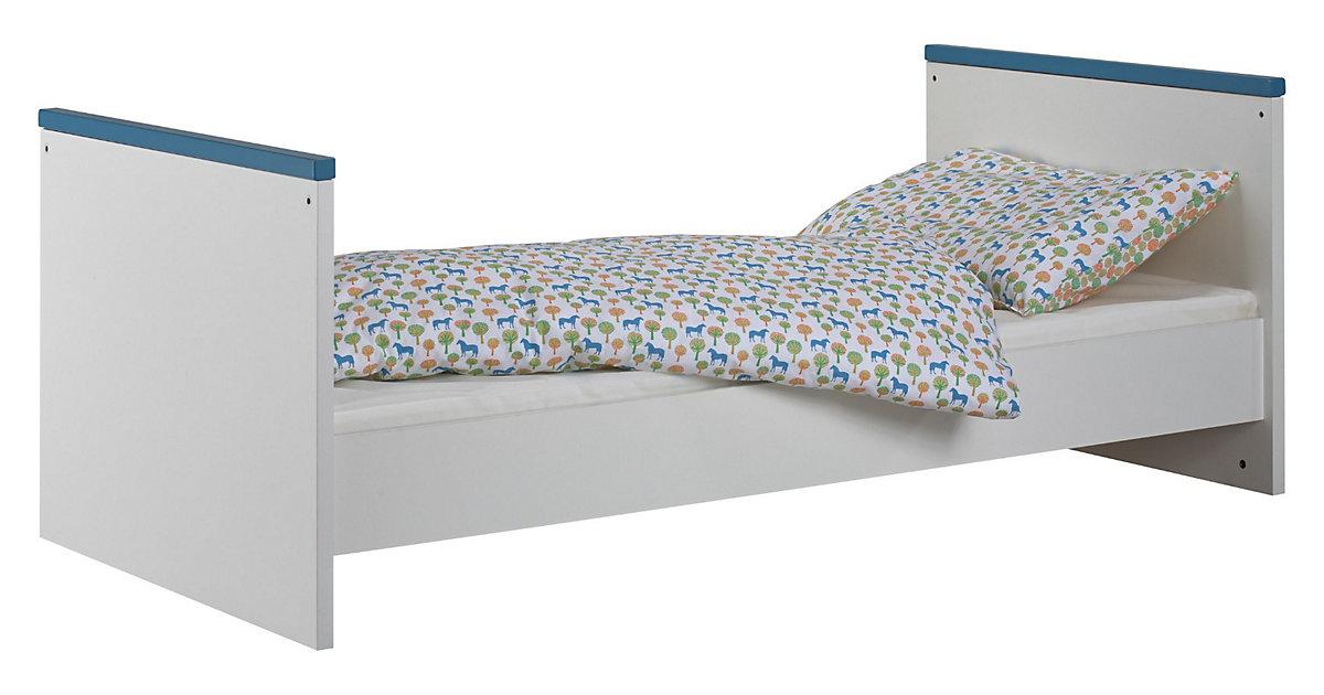 Umbauseiten Kinderbett, weiß Gr. 140 Kleinkinder