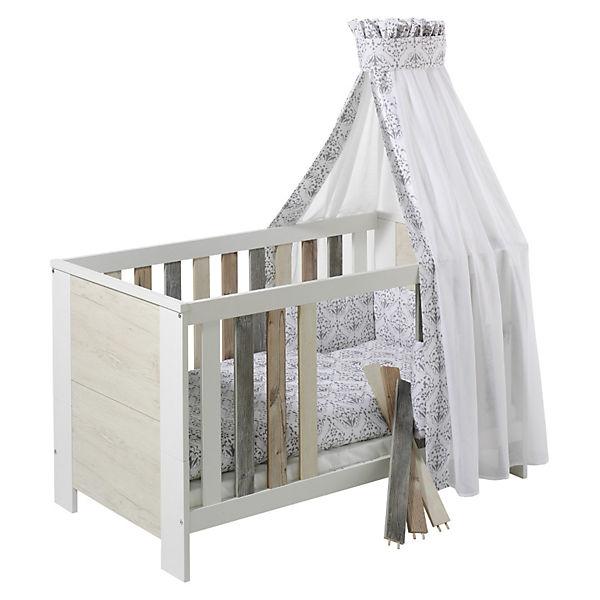 kinderbett woody 70 x 140 cm schardt mytoys. Black Bedroom Furniture Sets. Home Design Ideas