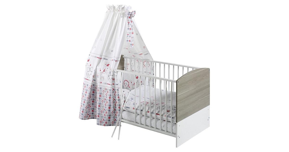 Kinderbett CLASSIC LINE WILDEICHE, weiß/wildeiche, 70 x 140 cm