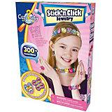 Curiosity Kits Stick'n Click Kreativset Schmuckbasteln