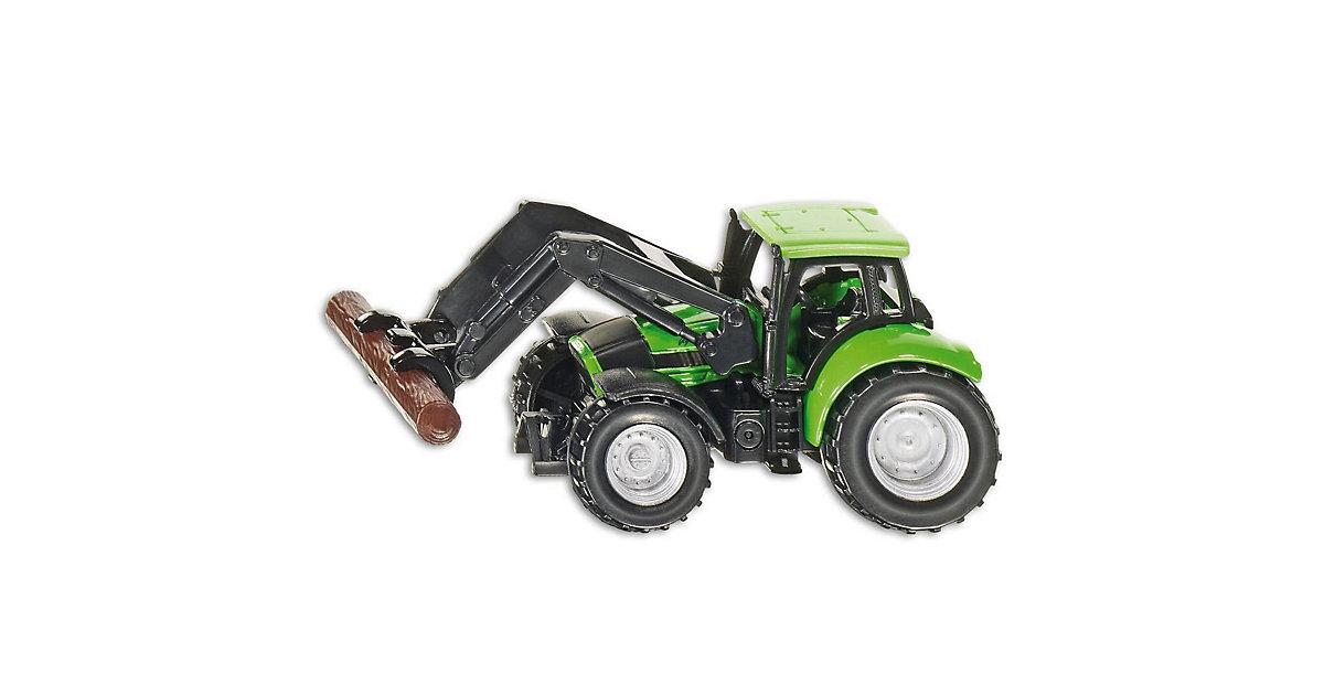 1380 Deutz Traktor mit Baumstammgreifer