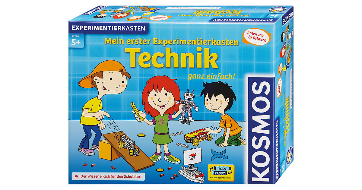 Mein erster Experimentierkasten: Technik