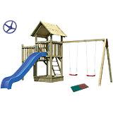 Spielturm Pfiffikus mit Satteldach im Set