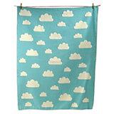 Kuscheldecke Finn Wolken, Flanell, 100 x 130 cm