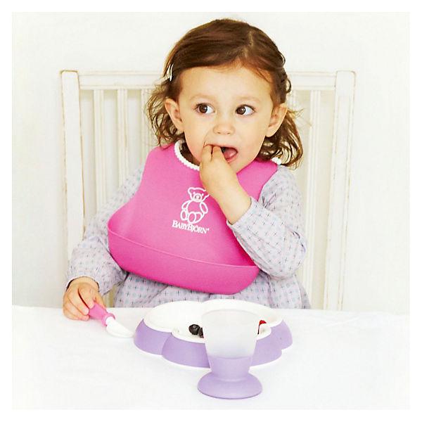l tzchen mit auffangschale pink baby bj rn mytoys. Black Bedroom Furniture Sets. Home Design Ideas
