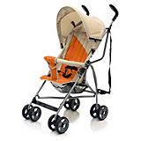 Коляска-трость Vento, Baby Care, светло-серый/оранжевый