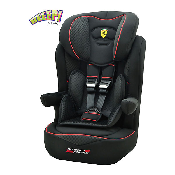 auto kindersitz i max sp isofix ferrari black 2018. Black Bedroom Furniture Sets. Home Design Ideas