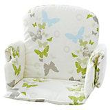 Sitzverkleinerer für Hochstuhl , Stoff,  Schmetterlinge