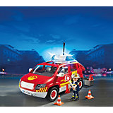 PLAYMOBIL 5364 Пожарная служба: Пожарная машина командира со светом и звуком