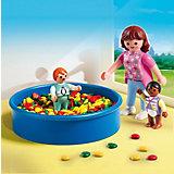 PLAYMOBIL 5572 Детский сад: Игровая площадка с шариками