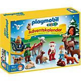 PLAYMOBIL® 5497 Adventskalender 1.2.3 Waldweihnacht