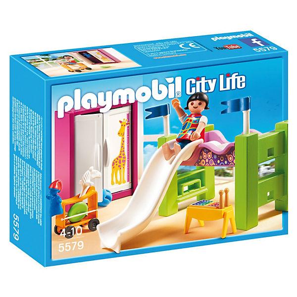 PLAYMOBIL 5579 Особняки: Детская комната с двухъярусной кроватью-горкой
