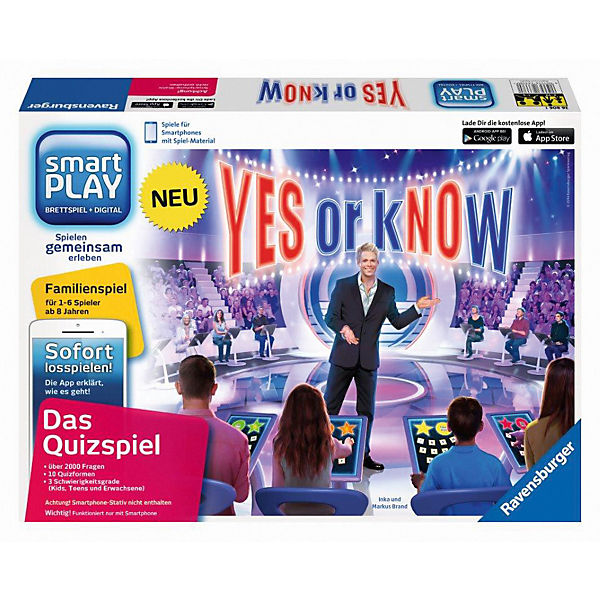 smartPLAY Yes or kNOw (ohne Smartphone-Stativ)