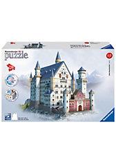 3D Gebäude Puzzle Schloss Neuschwanstein 216 Teile