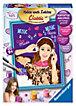 Malen nach Zahlen Disney Violetta ca. 18 x 24 cm