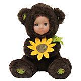 Кукла Медвежонок с цветочком, Anna De Wailly