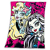 Kuscheldecke Monster High pink, 130 x 160 cm