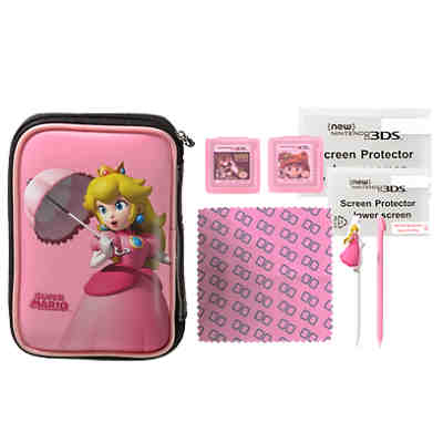 3DS XL Essentinall Peach Pack (kompatibel mit NEW 3DS / NEW 3DS XL)