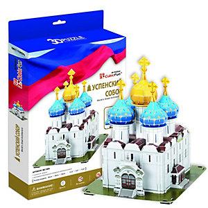 Настольная игра  Успенский собор, Троице-Сергиева Лавра (Россия), 3D