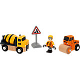 BRIO 33733 Baufahrzeuge-Set