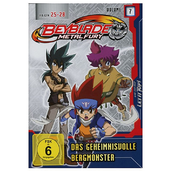 DVD Beyblade Metal Fury - Vol. 7 (Folge 25-27)
