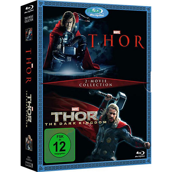 BLU-RAY Thor & Thor - The Dark Kingdom (2 Movie Collection)
