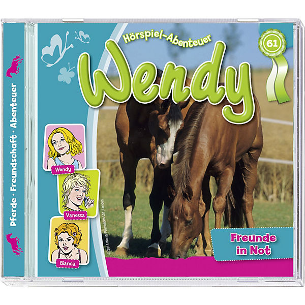 CD Wendy 61 - Freunde in der Not