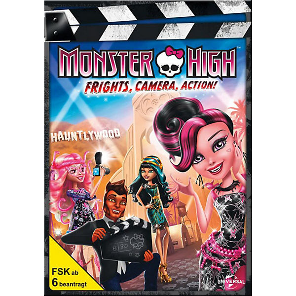DVD Monster High - Licht aus, Grusel an!
