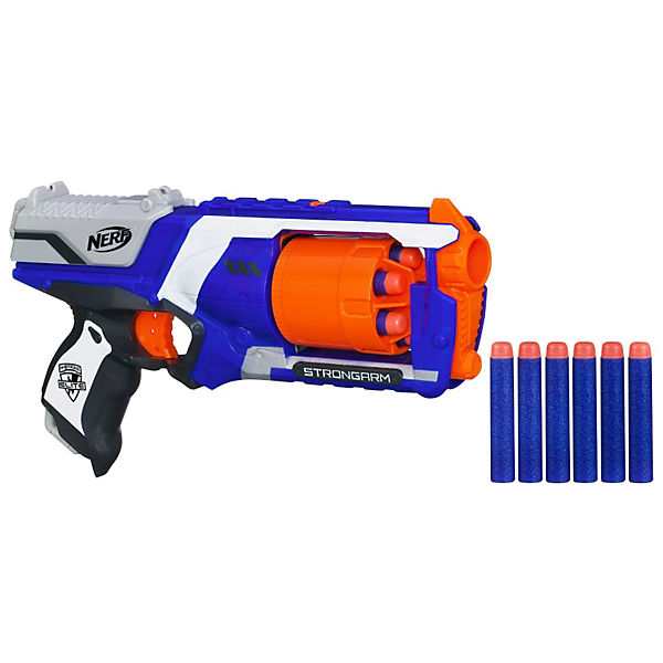 NERF  N-Strike Elite Strongarm 6+6 Elite Darts
