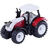 SIKU 1382 Трактор красно-белый