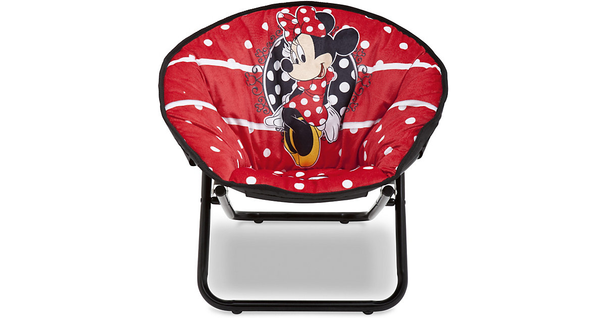 Stuhl, Minnie Mouse, klappbar rot