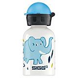 Alu-Trinkflasche Elephant Family, 300 ml