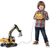 Экскаватор гусеничный, многофункциональный, 70 см, Dickie Toys