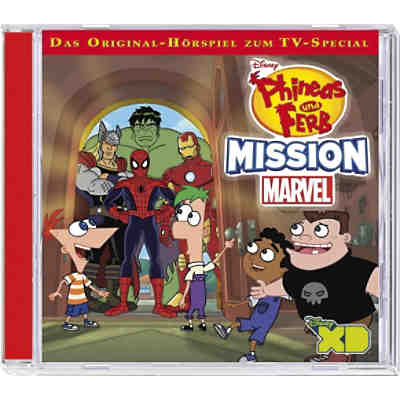CD Phineas & Ferb 09 - Mission Marvel