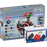 "Fischertechnik ROBOTICS ""Paket TXT Discovery + Accu Set"" - Robotik Komplettset"