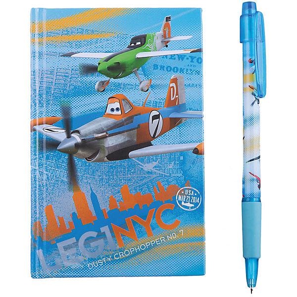 Набор канцелярский: ноутбук и ручка  , Самолеты