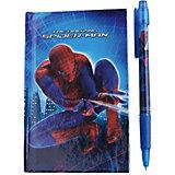 Набор в подарочной коробке: ноутбук, ручка, Человек-Паук