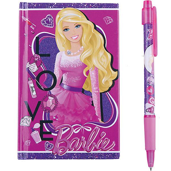 Набор канцелярский в подарочной коробке, Barbie