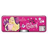 Пенал жесткий с точилками, Barbie