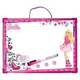 """Доска """"Пиши-стирай"""", на веревочке, Barbie"""