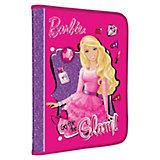 Папка для труда на молнии, Barbie