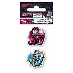 Ластики, 2 шт, Monster High