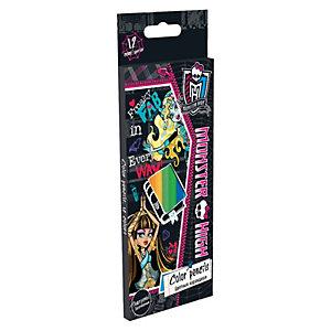 Цветные карандаши, 12 шт, Monster High