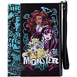 Ноутбук с ручкой, 100л, Monster High