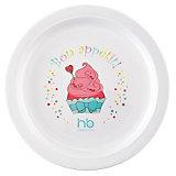 Тарелка CHILDREN`S PLATE, Happy Baby, пирожное